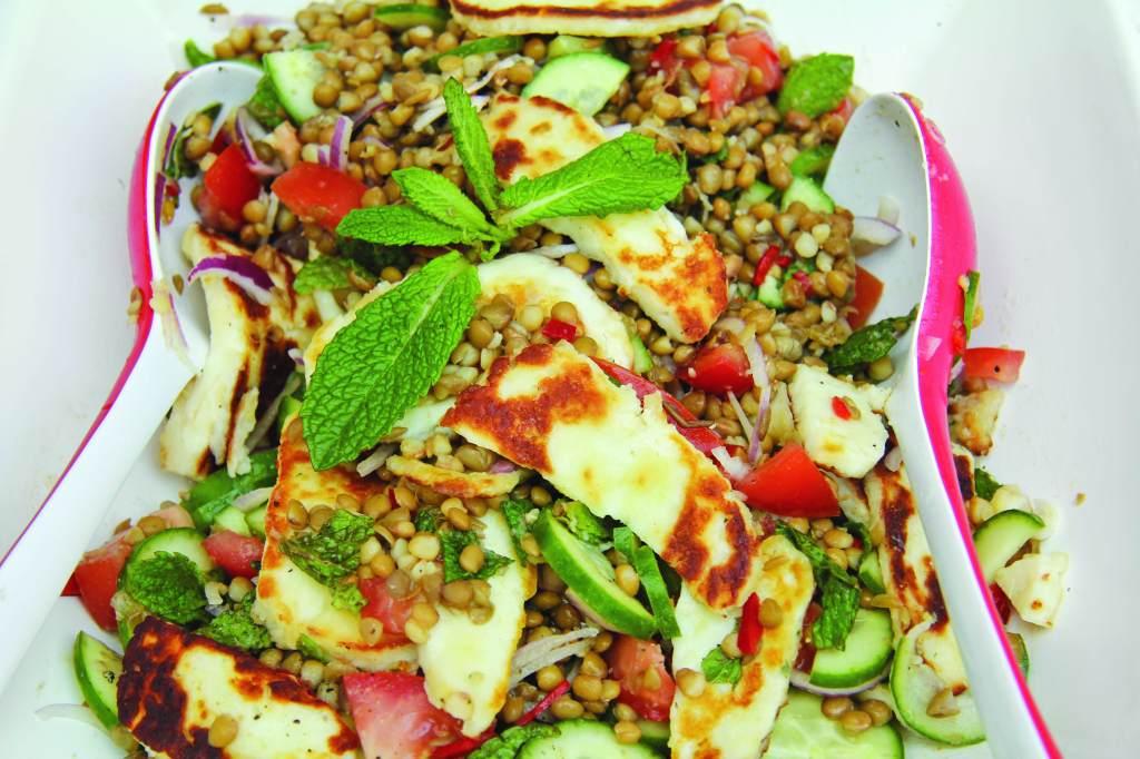 Australia Day BBQ Lentil Salad
