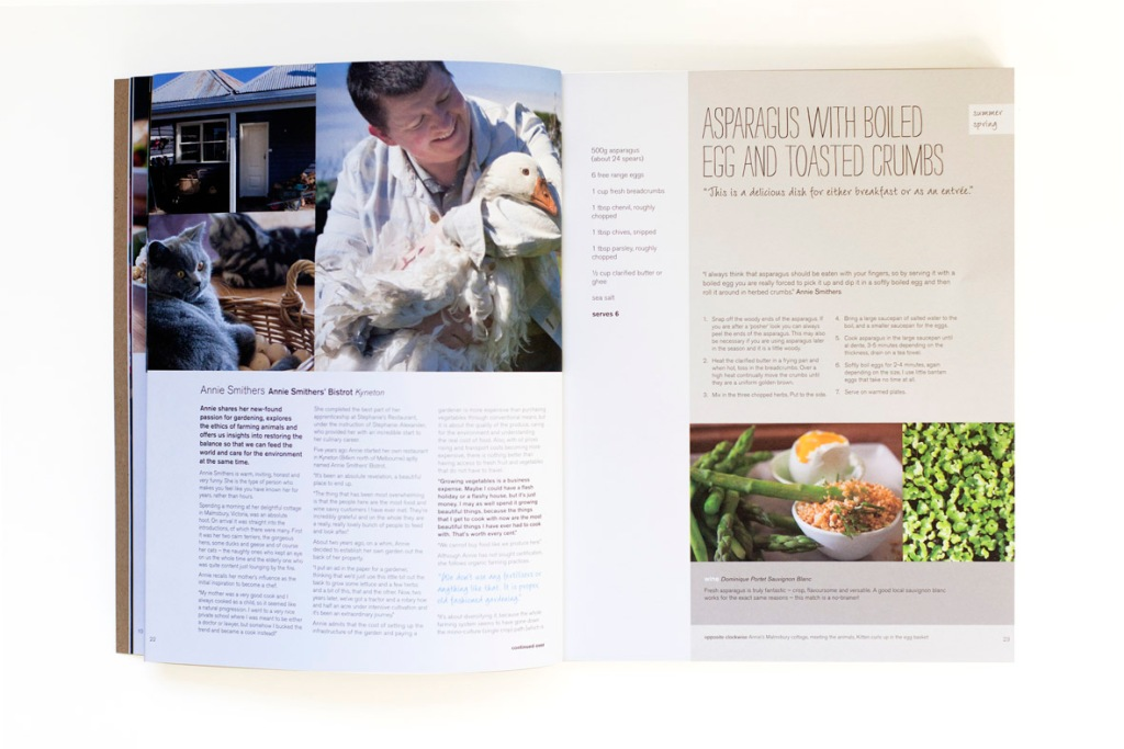 Annie Smithers Sustainable Table Cookbook