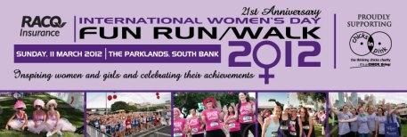 International Women's Day Fun Run
