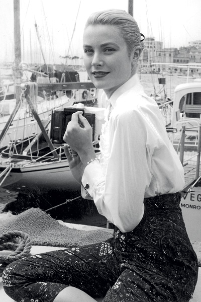 Princess Grace Kelly - Boating