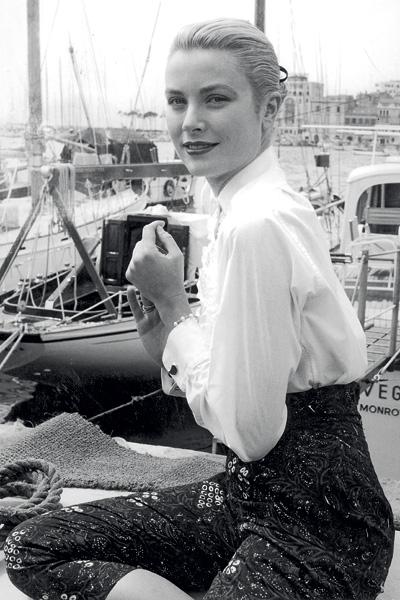 Princess Grace Kelly - Boating