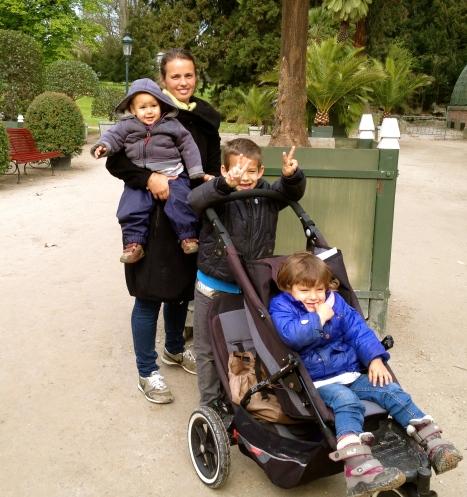Kathie and her 3 children