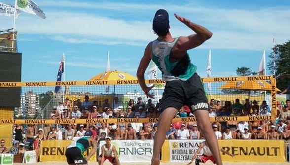 Mens Beach Volleyball