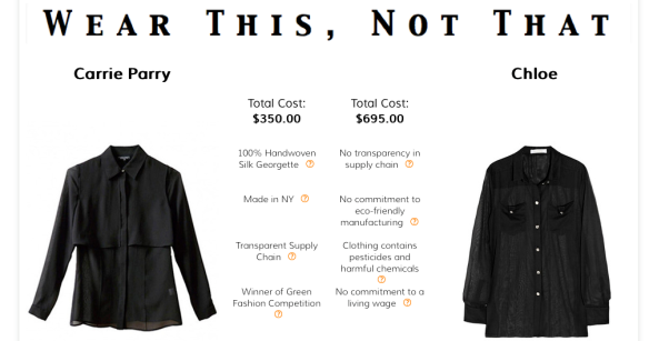 Fashioning Change - ethical fashion online store