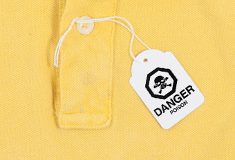 Toxic Chemicals are found in garments