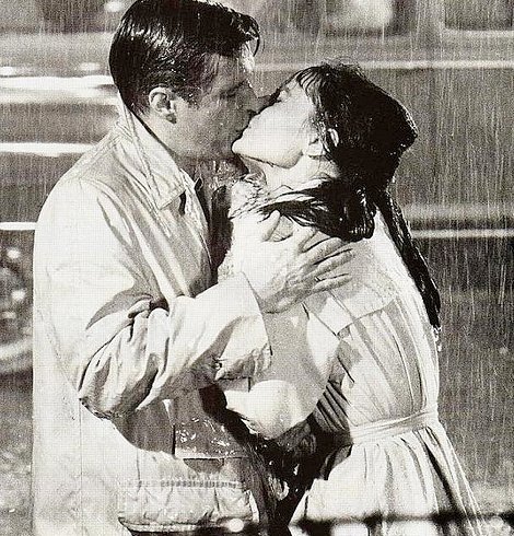 I do love a soppy love scene and you can't beat the romance of Breakfast at Tiffany's.