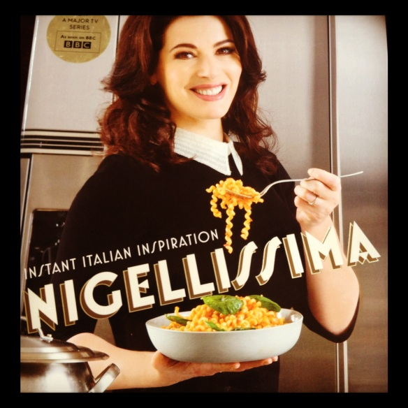 Nigella Lawsons new Book Nigellissima