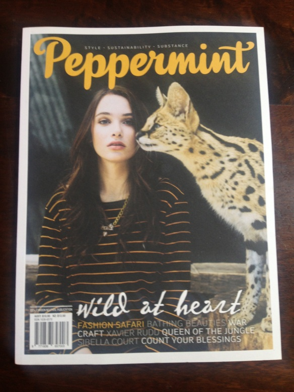Peppermint Autumn 2013 (cover)