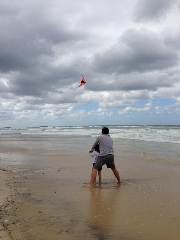 let's go fly a kite...la..la...la...