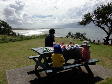 The perfect picnic spot.  Tweed Coast.