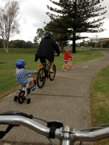 bike riding - yes I am on my bike! ;)