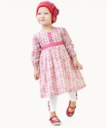 Eternal Creation Daisy Chain Pleated Dress