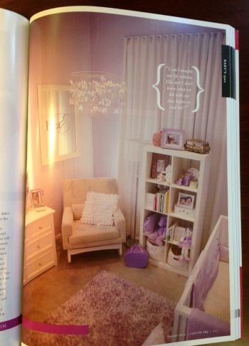 Ella Rose's room we loved from Issue 9. Our friend Ella's mum Jade (http://www.weddingbling.com.au/) has great style!