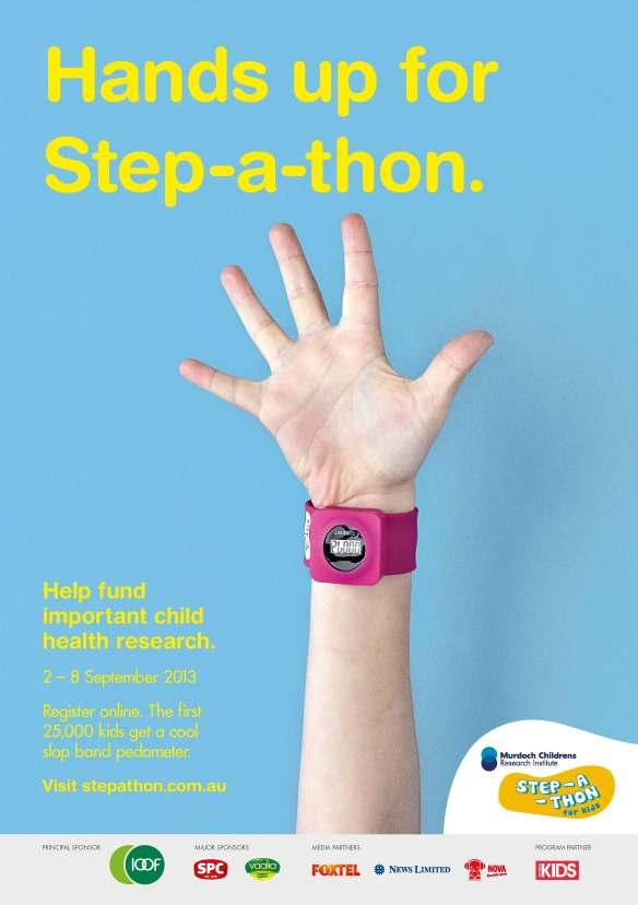stepathon 1 Hands Up