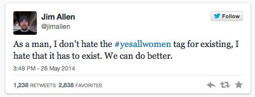 #YesAllWomen Twitter