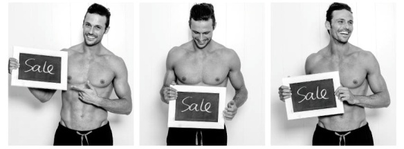 sale FB cover photo BW