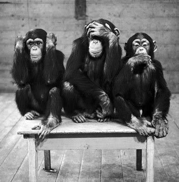 Hear no Evil. See no Evil. Speak no Evil